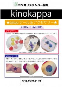 kinokappa紹介ボード
